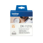 Brother DK-11219 DK-11219 Round Labels Wit DK 4977766634564