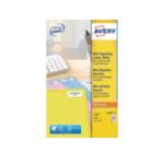 Avery L7656-25 L7656-25 Wit printeretiket 3266550263150