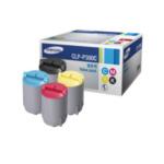 Samsung CLP-P300C/ELS C / M / Y / K Rainbow Toner Kit (rendement 1000 pagina's Magenta Cyaan Yellow ; 2000 pagina's zwart) 8806349389767