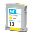 HP C4817A Cartucho de tinta amarilla 13 inktcartridge 1 stuk(s) Origineel Geel 829160822389