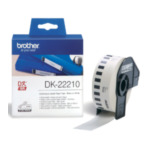 Brother DK-22210 Doorlopende papiertape 29 mm 4977766628181