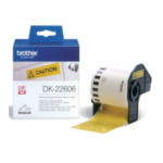 Brother DK-22606 Gele doorlopende filmtape 62 mm 4977766628228