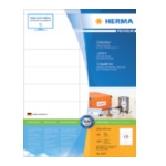 Herma 4427 Labels white 105x35 SuperPrint 1600 pcs. Wit zelfklevendevend printerlabel 4008705044271