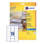 Avery J8161-10 White Address Label - Inkjet - J8161 Wit 3266550154847