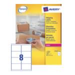 Avery L7165-250 White Address Label - Laser - L7165 Wit 5014702810299