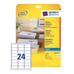 Avery J8159-10 White Address Label - Inkjet - J8159 Wit 8711181000056