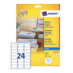 Avery J8159-40 White Address Label - Inkjet - J8159 Wit 3266550270240