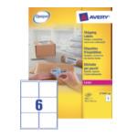 Avery L7166-100 L7166-100 Wit 600 stuksuk(s) etiket 5014702175329