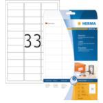 Herma 8837 8837 Wit zelfklevendevend printerlabel printeretiket 4008705088374