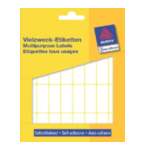 Zweckform 3323 Avery Mini Etiketten, wit, 38,0 x 14,0 mm, permanent klevend 4004182033234