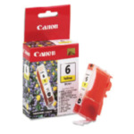 Canon 4708A002 BCI-6Y Geel inktcartridge 4960999864761