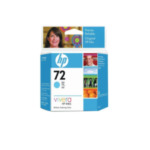 HP C9398A 72 69-ml Cyan DesignJet Ink Cartridge inktcartridge 1 stuk(s) Origineel Cyaan 735029215172