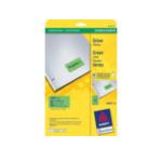 Avery L603320 L6033-20 Afgeronde rechthoek Verwijderbaar Groen 480 stuksuk(s) etiket 4004182288245