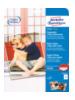 Avery Zweckform 2743-40 pak fotopapier Wit Matglanzend A4