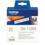 Brother DK-11203 Dossiermaplabels papier 17 x 87 mm labelprinter-tape 4977766628150