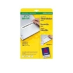 Avery L6031REV-25 Removable Labels 96 x 16,9mm (25) 4004182060315