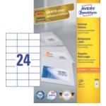 Zweckform 3474 Avery 3474 Wit printeretiket 4004182034743