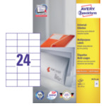 Zweckform 3474-200 Avery 3474-200 Wit 4800 stuksuk(s) etiket 4004182249512