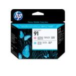 HP C9462A 91 licht-magenta en licht-cyaan printkop 882780987166