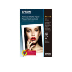 Epson C13S041342 Archival Matte Paper, DIN A4, 192g/m², 50 Vel 4053162269743
