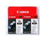 Canon 4479A287 BCI-3EBK, 2-pack inktcartridge Original Zwart Multipack 2 stuk(s) 8714574959603
