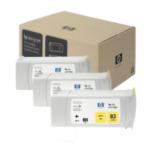 HP C5075A 83 gele DesignJet UV-inktcartridges, 680 ml, 3-pack 808736596565