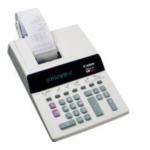 Canon 0216B001 P29-D IV calculator Desktop Rekenmachine met printer Wit 4960999270005