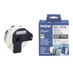 Brother DK-11218 DK-11218 Round Labels Wit DK 4977766634557