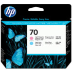 HP C9405A 70 licht-magenta/licht-cyaan DesignJet printkop 882780390768