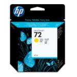 HP C9400A 72 69-ml Yellow DesignJet Ink Cartridge inktcartridge Origineel Normaal rendement Geel 808736779708