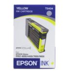 Epson C13T543400 Inktpatroon Yellow T543400 840538051583
