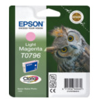Epson C13T07964010 Owl inktpatroon Light Magenta T0796 Claria Photographic Ink 8715946360669