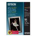 Epson C13S041944 Ultra Glossy Photo Paper - 13x18cm - 50 Vellen 4053162270015