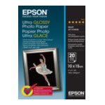 Epson C13S041926 Ultra Glossy Photo Paper - 10x15cm - 20 Vellen 4053162269989