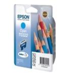 Epson C13T032240 Pencils T0322 Origineel Cyaan 1 stuk(s) 5704327120254