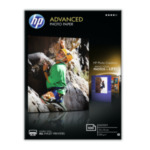 HP Q8692A Advanced Photo Paper, glanzend, 100 vel, 10 x 15 cm randloos 882780349605