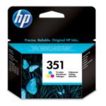 HP CB337EE 351 inktcartridge 1 stuk(s) Origineel Normaal rendement Cyaan, Magenta, Geel 808736844772