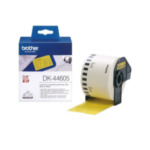 Brother DK-44605 DK-44605 Continuous Removable Yellow Paper Tape (62mm) 4977766635158