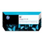 HP C9471A 91 775 ml-Tintenpatrone mit pigmentierter Tinte, Helles Magentarot, mit Vivera-Tinte inktcartridge 1 stuk(s) Origineel Lichtmagenta 882780987258