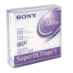 Sony SDLT320N S-Data Cart 160-320GB S-DLT 1pk 1,27 cm 027242620421