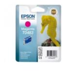 Epson C13T048340 Seahorse T0483 1 stuk(s) Origineel Magenta 5704327120278
