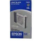 Epson C13T563700 Stylus Pro 7800/9800 Ink Cartridge (220ml) Light Black Zwart inktcartridge 5704327102861
