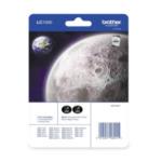 Brother LC-1000BKBP2 Inktcartridge pakket: Zwart tweemaal 5014047560415
