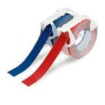 Brother TZ-222 Gloss Laminated Labelling Tape - 9mm, Red/White TZ labelprinter-tape 4977766052313