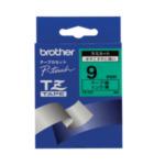 Brother TZ-721 TZ-721 Zwart op groen TZ labelprinter-tape 754082013105