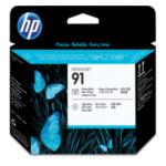 HP C9463A 91 fotozwarte en lichtgrijze printkop 882780987173