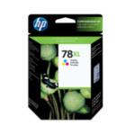 HP C6578A 78XL Origineel Cyaan, Magenta, Geel 1 stuk(s) 882780798625