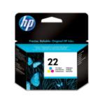HP C9352AE#ABF 22 Origineel Cyaan, Magenta, Geel 1 stuk(s) 829160941400