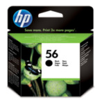 HP C6656AE 56 inktcartridge 1 stuk(s) Origineel Normaal rendement Zwart 884962780626