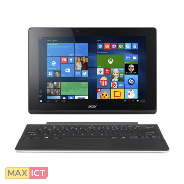 "Acer Switch 10 E SW3-016-14W5 Zwart, Wit Hybride (2-in-1) 25,6 cm (10.1"") 1280 x 800 Pixels Touchscreen 1,44 GHz Intel Atom™ x5-Z8300"